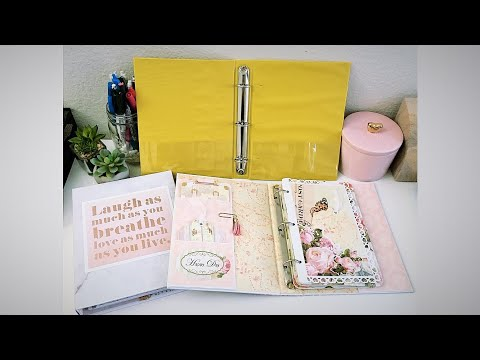 $1 Binder Makeover Tutorial