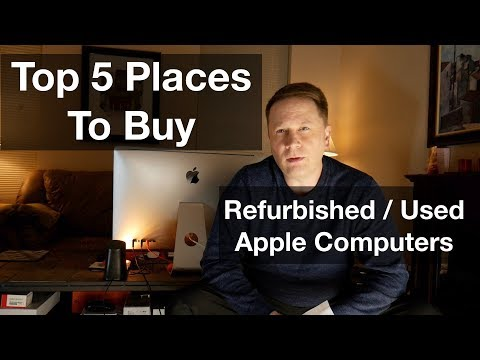 Top 5 Places To Buy Used And Refurbished Apple Computers