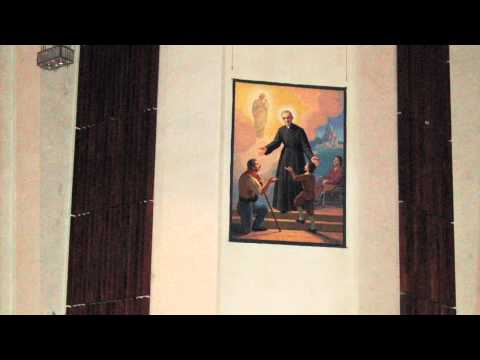 Brother Andre honored as Saint Andre Bessette at St. joseph's Oratory Montreal