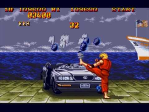 Street Fighter 2 Sce The Bonus Stages Youtube