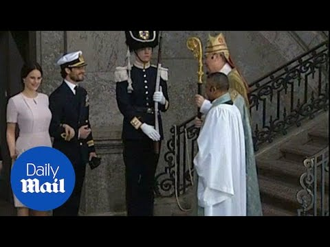 Royals arrive for Swedish King Carl Gustaf's birthday - Daily Mail