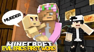 EVIL ERIC SAYS HIS FIRST WORD! Minecraft Royal Family & RAVEN w/LittleKellyandCarly (Roleplay) thumbnail