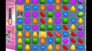 How to beat Candy Crush Saga Level 257 - 1 Stars - No Boosters - 96,040pts