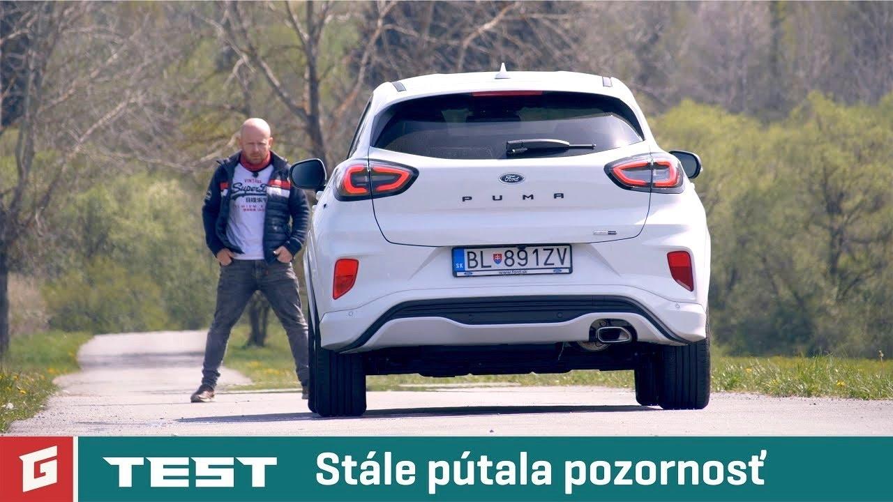 FORD PUMA ST - lineX - 1,0 EcoBoost mHEV 155 k - TEST - GARAZ.TV - Rasťo Chvála - YouTube