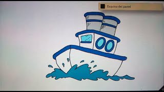Como dibujar un barco - Art Academy Atelier Wii U | How to draw a boat