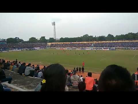 PSIR (Rembang) vs PSIS (  semarang ) hasil  imbang 1 - 1/ cuplikan Goal balasan PSIR ke gawang PSIS