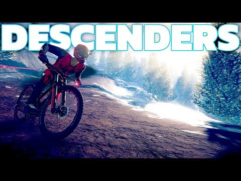 Descenders - High Speed Alpine Mountain Bombing! - The Final World - Descenders Gameplay Highlights