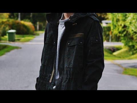 DIY - FLECKTARN JACKET DYED BLACK