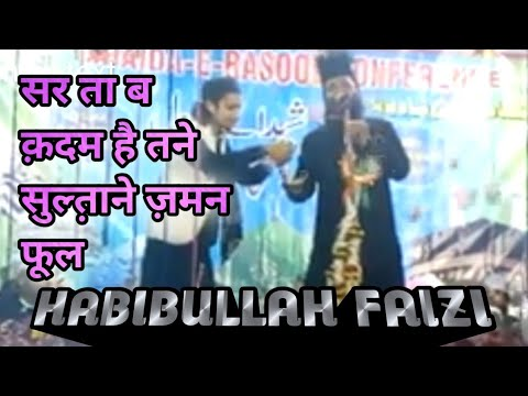 HABIBULLAH FAIZI__Sar Ta Ba-qadam Hai Tan E Sultane Zaman Phool|| SHAIDA-E-CONFERENCE@MEDINIPUR WEST