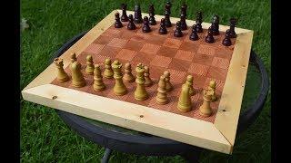End Grain Chess Board