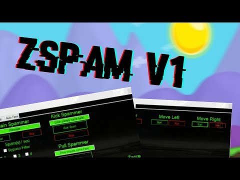 Growtopia Spammer & AutoFarmer [ALL VERSIONS] Zspam V1 [SPAMMER, AUTO FARMER] | [DOWNLOAD]