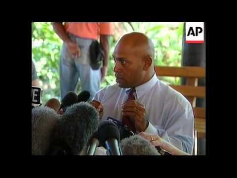 FIJI: HOSTAGES GEORGE SPEIGHT INTV