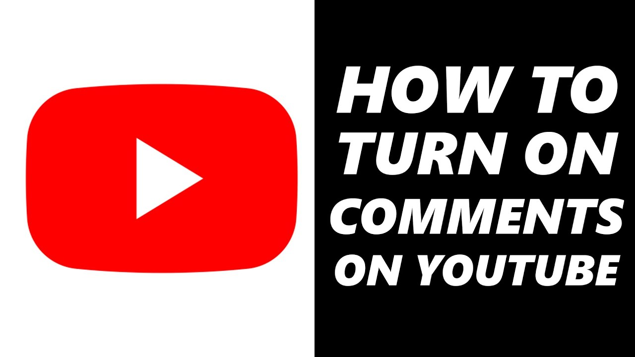 How to Turn On Comment on YouTube Videos! (Phone & Desktop)