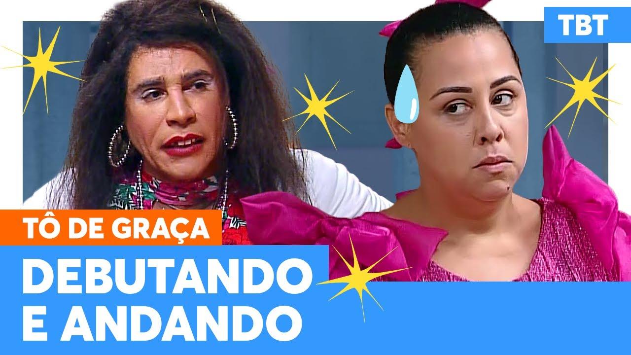 Graça obriga Marraia a usar VESTIDO DE DEBUTANTE!   Tô De Graça   Humor Multishow