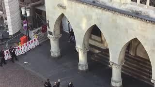 Amok - Alarm in Münster Täter wird gestellt