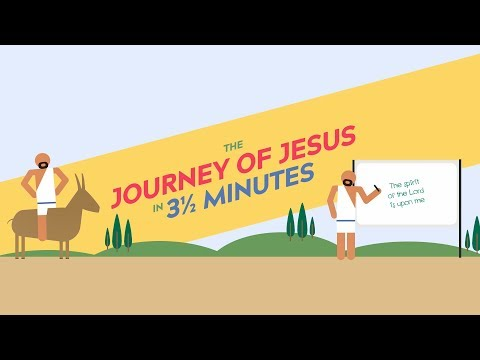 The Journey Of Jesus In 3 ½ Minutes