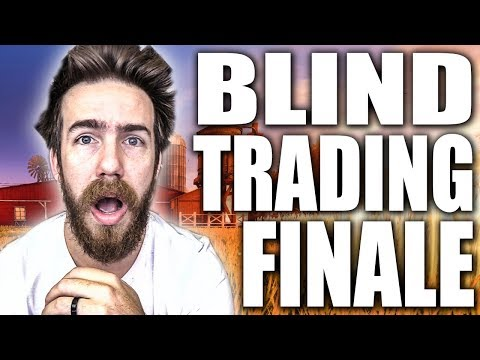 THE INCREDIBLE BLIND TRADING SEASON 3 FINALE! | ROCKET LEAGUE