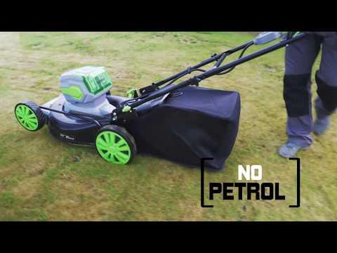 Cordless 50cm Self Propelled Lawn Mower