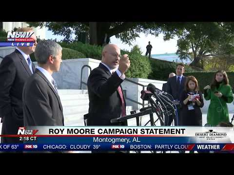 LIVE: Roy Moore Attorney Addresses Media