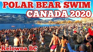 Polar Bear Swim Kelowna BC CANADA 2020