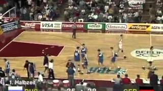 EuroBasket 1993 Finale Russia - Germany (part 2)