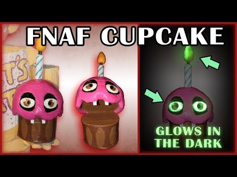 How to Make: Cupcake Puppet! (FNAF)