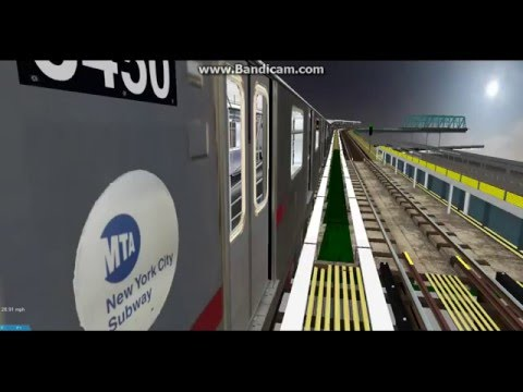 OpenBVE Exclusive: R142 6 from Parkchester to Brooklyn Bridge via City Hall Loop