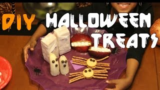 Halloween Treats Diy |  2015 Halloween  | After School With Kj | #kjtakeover