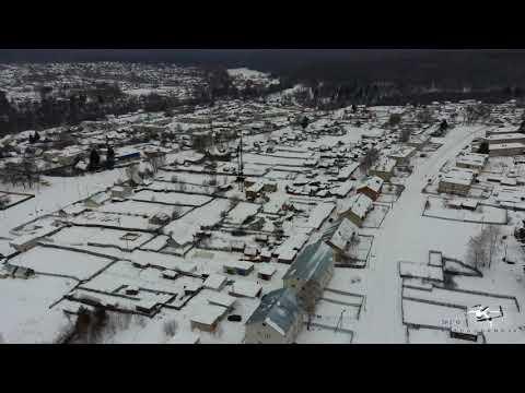 р.п. Золотаревка (Бекетовка) Пензенского района Пензенской области  зимой
