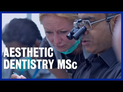Aesthetic Dentistry MSc | King's College London