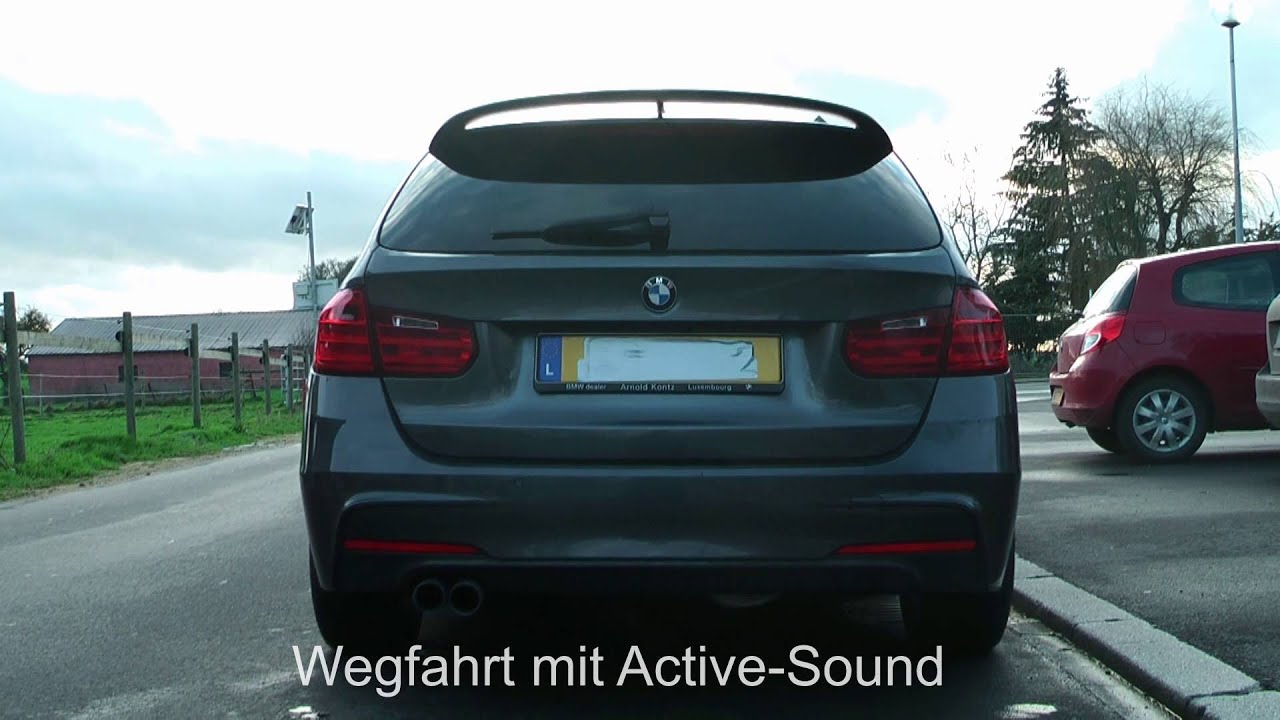 Bmw Diesel Sound Bmw F30 F31 Hier 335d Xdrive Active