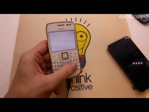 Nokia E6 - HARD RESET - ustawienia fabryczne