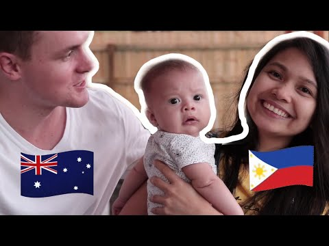 Our Half Filipino Baby!
