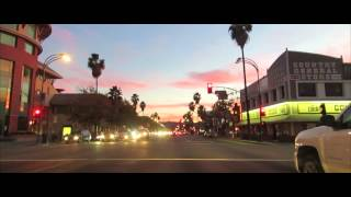 Driving from North Hollywood to Van Nuys in late afternoon.