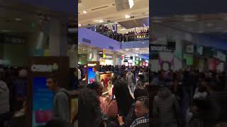 Westfield Stratford Gang Brawl with alleged acid attack 26.12.2017 London