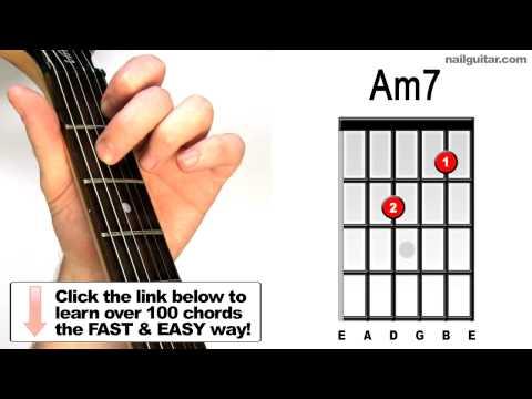 Am7 Guitar Chord Worshipchords
