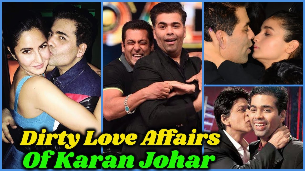 Secret and Dark Love Affairs of Karan Johar