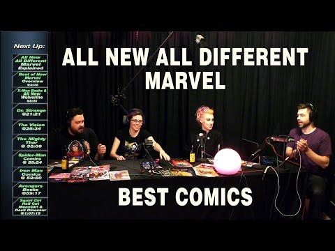 Best Comics of All New All Different Marvel. Hot Comics Plopcast #31, Jan 2016
