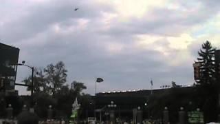Michigan Stadium Flyover - 9/20/14 UM vs Utah