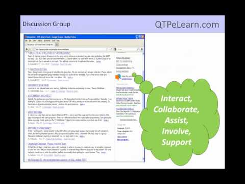 QTP eLearn OnDemand Video Training QTP VB Script Frameworks Descriptive Programming QTP Tutorial