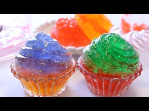 Edible Orbeez Gummy Cupcake ~食べられる オービーズ グミ カップケーキ