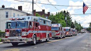 Fire Truck Parade - Matawan Washington Engine Company 150th Anniversary 6-22-19