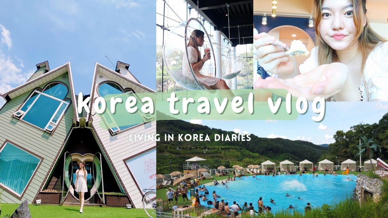 korea travel vlog| cafe hopping in chuncheon, ganghwado, wonju, seoul|