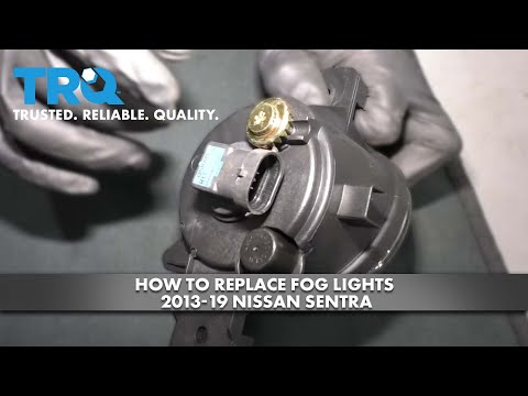 How to Replace Fog Lights 2013-19 Nissan Sentra