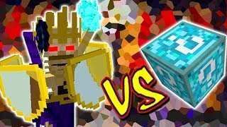 LORDE ESQUELETO VS. LUCKY BLOCK CRYSTAL (MINECRAFT LUCKY BLOCK CHALLENGE)
