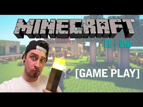 MINECRAFT P.E IPAD CREATOR MODE - Aspergers Playing Minecraft For IPad Game Play
