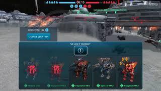 War Robots - SPECTRE SHOCKTRAIN MK2 GAMEPLAY