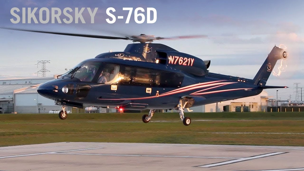 Sikorsky's New S-76D Evaluated By Former North Sea