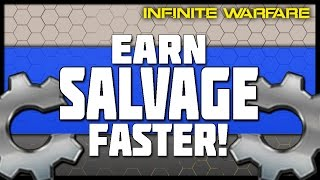 Earn Salvage Faster & Spend it Wisely! (How Salvage is Earned in Infinite Warfare)