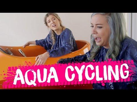 WTF is AQUA CYCLING? (Beauty Trippin)